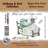 Anthony & Burt Collection - EZMount Stamp Set - Hope You Feel Better Soon!