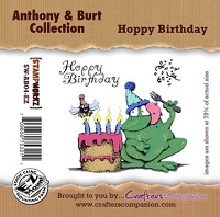 Anthony & Burt - Cling Rubber Stamps