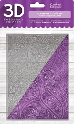 Crafter's Companion - 3D Embossing Folder Zen Garden