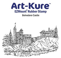 Art-Kure EZMount Stamp - by Mike Goss - US Landmarks Belvedere Castle