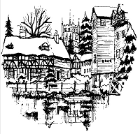 Art-Kure EZMount Stamp - by Mike Goss - Tewksbury Mill