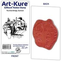 Art-Kure EZMount Stamp - by Mike Goss - The Elvet Bridge, Durham