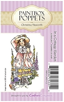 Paintbox Poppets EZMount Stamp - In a Cottage Garden