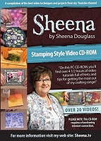 Sheena Douglas CD-ROM - Stamping Style Video CD-ROM