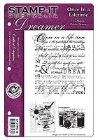 Stamp-It - EZ Mount Rubber Stamp - Australia Dreamer Once In A Lifetime