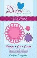 Crafter's Companion - Die'sire Decorative Dies - Waltz Frame :)