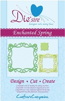 Crafter's Companion - Die'sire Decorative Dies - Enchanted Spring :)