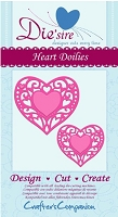 Crafter's Companion - Die'sire Decorative Dies - Heart Doilies