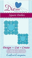 Crafter's Companion - Die'sire Decorative Dies - Square Doilies