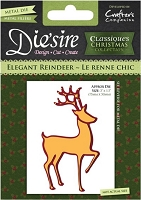 Crafter's Companion - Classique Christmas Dies - Elegant Reindeer