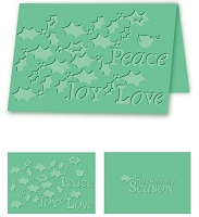 Craftwell E-Bosser - A4 Size Embossing Folder - Holiday Holly