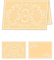 Craftwell E-Bosser - A4 Size Embossing Folder - Fanciful Flight
