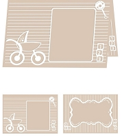 Craftwell E-Bosser - A4 Size Embossing Folder - Baby Blocks
