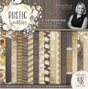 Crafter's Companion - Rustic Wedding Collection by Sara Davies - 6
