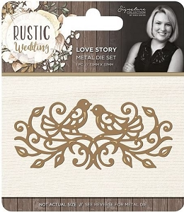Crafter's Companion - Rustic Wedding Collection by Sara Davies - Love Story Die