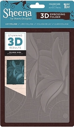 Crafter's Companion - 3D Embossing Folder by Sheena - Lily Collage