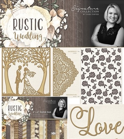 Rustic Wedding Collection by Sara Davies