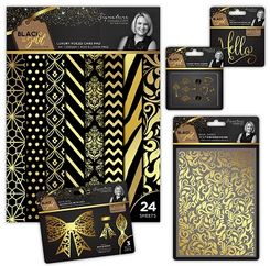 Black & Gold Collection by Sara Davies