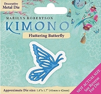 Crafter's Companion - Kimono Collection - Fluttering Butterfly Die :)