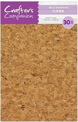 Crafter's Companion - Self-Adhesive Cork Sheets (5.5