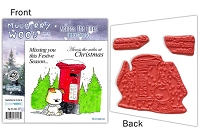 Mulberry Wood - EZ Mount Rubber Stamp Set - Across The Miles