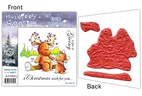 Mulberry Wood - EZ Mount Rubber Stamp Set - Giving