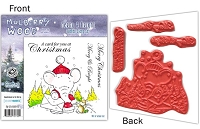 Mulberry Wood - EZ Mount Rubber Stamp Set - Merry & Bright