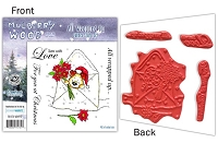Mulberry Wood - EZ Mount Rubber Stamp Set - All Wrapped up