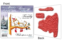 Mulberry Wood - EZ Mount Rubber Stamp Set - Wish Upon a Star