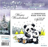 Mulberry Wood - EZ Mount Rubber Stamp Set - Winter Wonderland