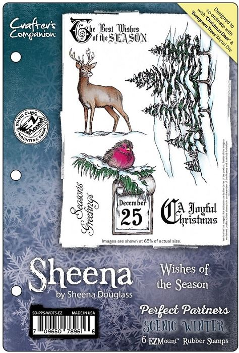 Sheena Douglass - Scenic Winter Stamps & Dies