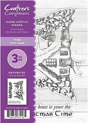 Crafter's Companion - Clear Stamp Set (4x6) - Pine Cottage