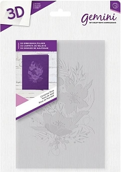 Crafter's Companion - 3D Embossing Folder Christmas Rose