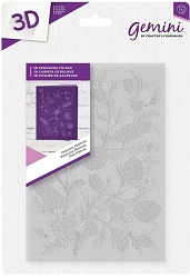Crafter's Companion - 3D Embossing Folder Pinecone Plethora