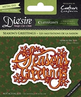 Crafter's Companion - Die'sire Classiques Christmas Words Only Dies - Season's Greetings :)