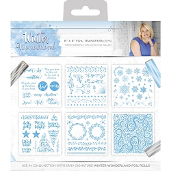 Crafter's Companion - Winter Wonderland Collection by Sara Davies - Foil Transfers