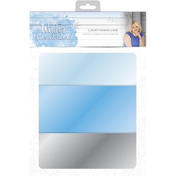 Crafter's Companion - Winter Wonderland Collection by Sara Davies - Luxury Cardstock Pack:  Mirror Card