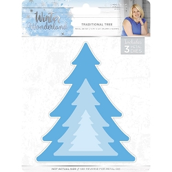 Crafter's Companion - Winter Wonderland Collection by Sara Davies - Traditional Tree Die
