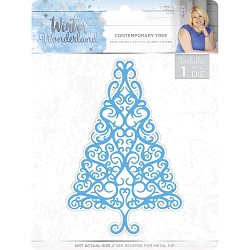 Crafter's Companion - Winter Wonderland Collection by Sara Davies - Contemporary Tree Die