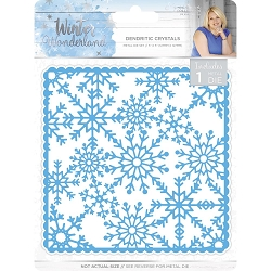 Crafter's Companion - Winter Wonderland Collection by Sara Davies - Dendritic Crystals Die