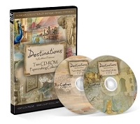 Crafter's Companion - Destinations by Kathleen Francour - Twin CD-ROM