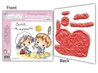 S.W.A.L.K. EZMount Rubber Stamp Collection 6 - Sweet as Sunshine