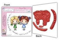 S.W.A.L.K. EZMount Rubber Stamp Collection 6 - Saying Bye