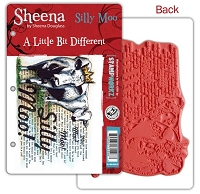 Crafter's Companion - Sheena Cling EZMount Stamp - A Little Bit Different - Silly Moo by Sheena Douglass
