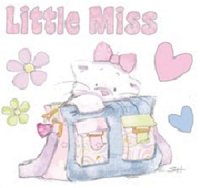 Strawberry Kisses - Rubber Stamp Set - Little Miss