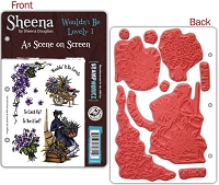 Crafter's Companion - Sheena Cling Stamp Set- As Seen On Screen - Wouldn't It Be Lovely 1