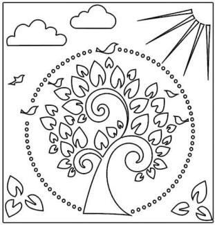 Crafter S Workshop Templates 12 Quot X12 Quot Tree Of Life