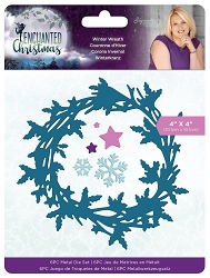 Crafter's Companion - Enchanted Christmas Collection by Sara Davies - Winter Wreath Die