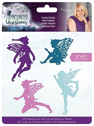 Crafter's Companion - Enchanted Christmas Collection by Sara Davies - Festive Fairies Die