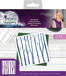 Crafter's Companion - Enchanted Christmas Collection by Sara Davies - Birch Forest 6